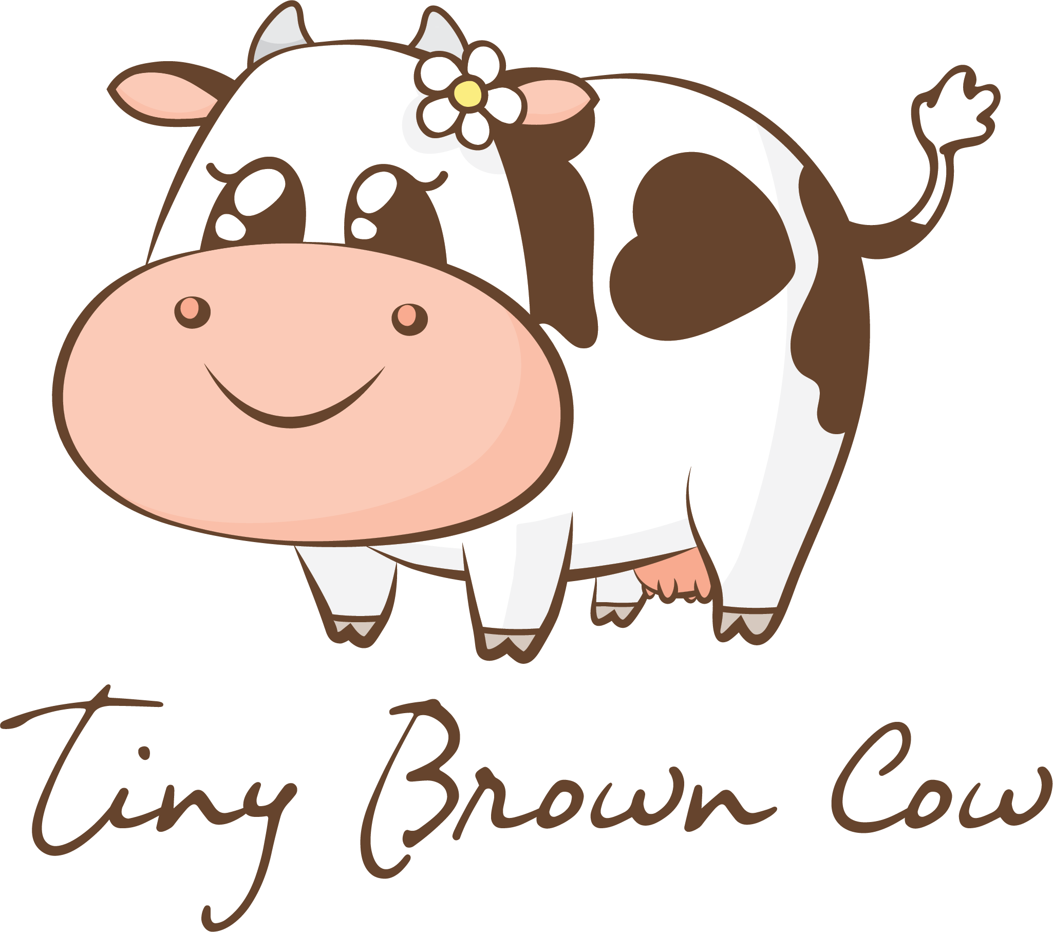 Tiny Brown Cow